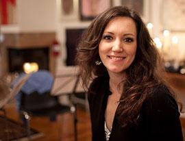 Anna Volovitch, Klavier
