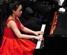 Hsin-Yu-Kwan, Klavier